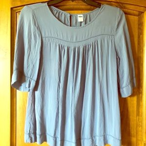 Cute blue blouse, Old Navy XS